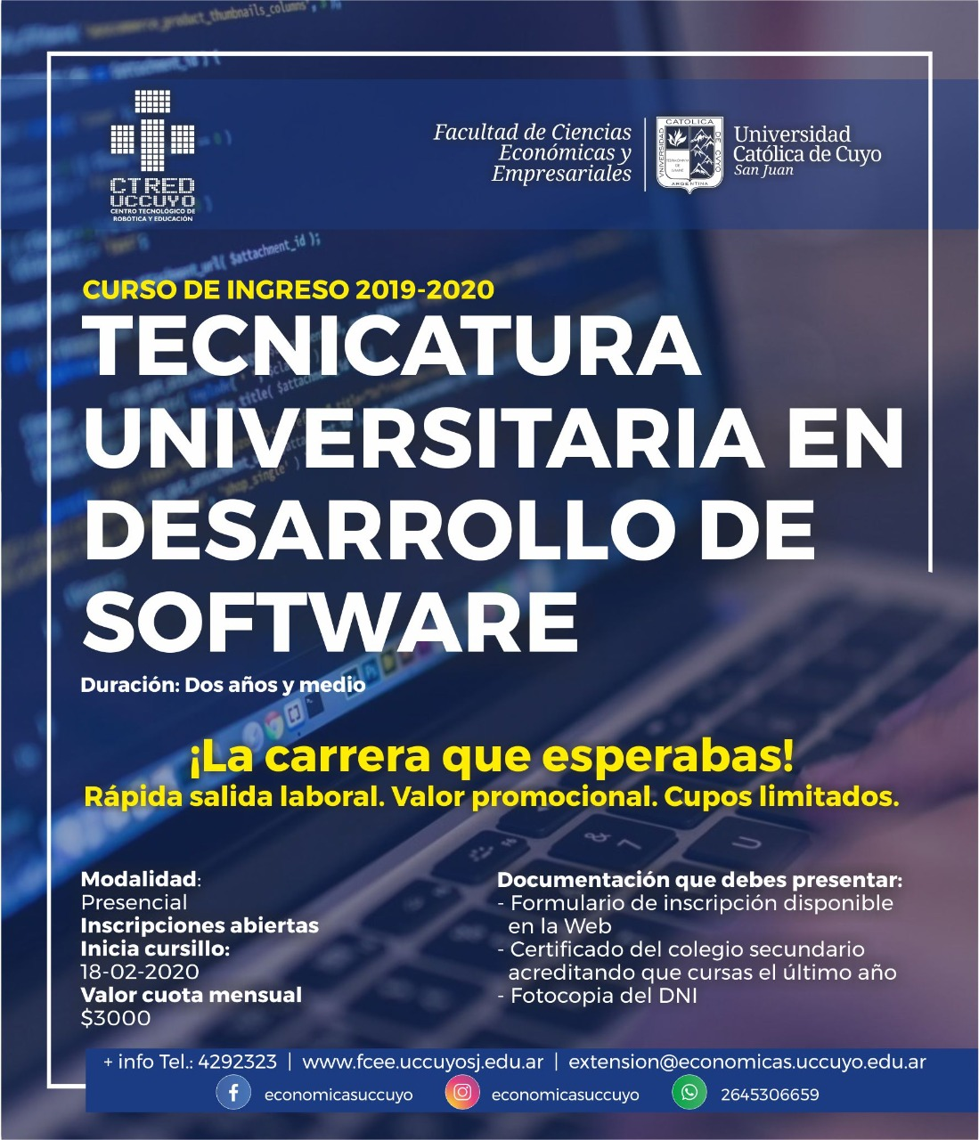 Tecnicatura Universitaria en Desarrollo de Software